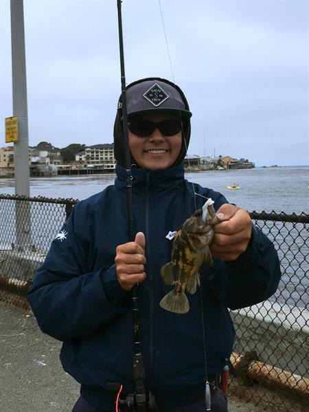 Caught off the Jetty!
