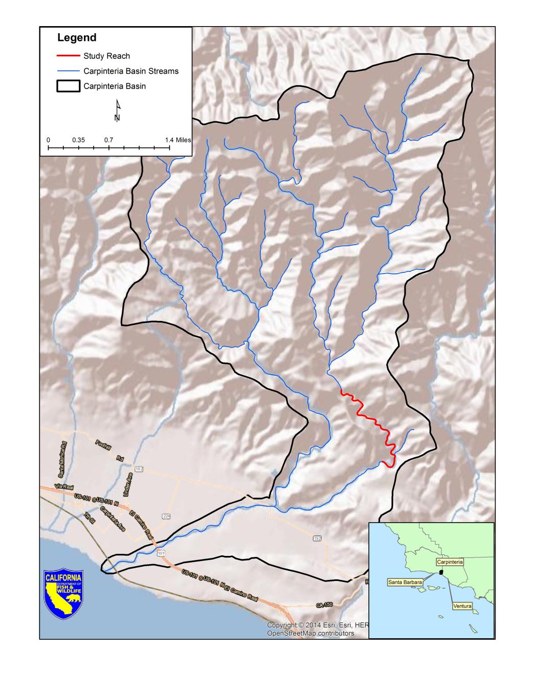 Drought Stressor Monitoring Case Study Gobernador Creek Southern