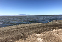 view of Salton Sea