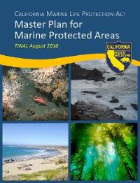 Cover for the 2016 Master Plan for MPAs