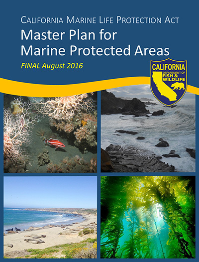 Cover of 2016 Master Plan for MPAs