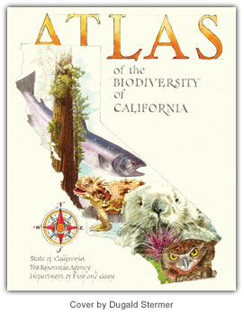 Atlas of the Biodiversity of California cover