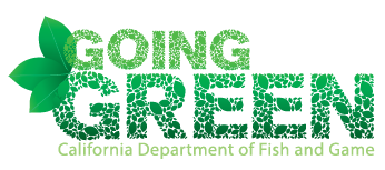 CDFW Going Green logo