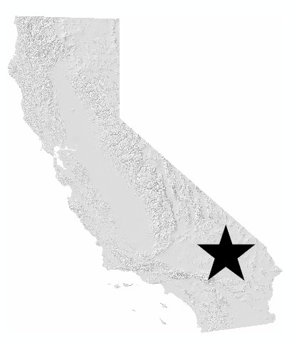 California map indicating location of Placer County