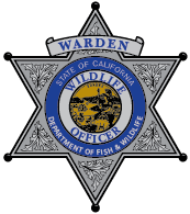 CDFW Warden Shield
