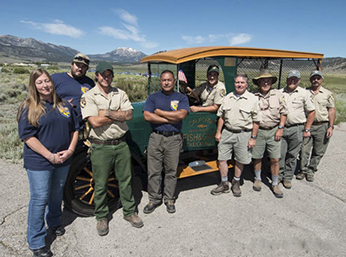 Hot Creek Hatchery-staff