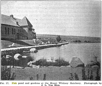 Mt Whitney Hatchery circa 1922