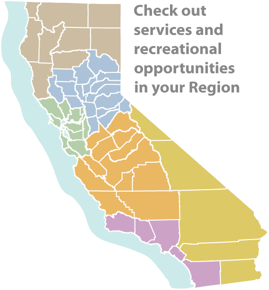 Link to list of CDFW Regions for regional services and recreational opportunities