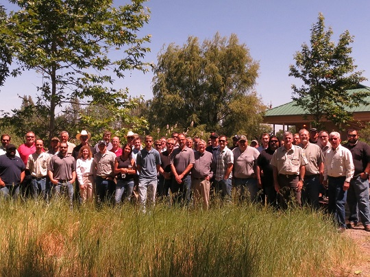 Group photo of pheasant workshop attendees