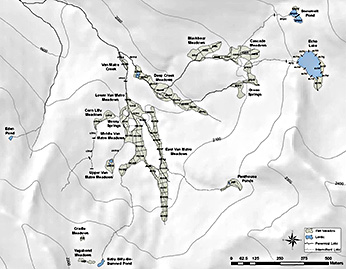 Map - Echo Lake removal sites