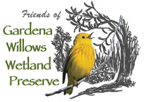Friends of Gardena Willows Wetland Preserve logo - link to website opens in new window