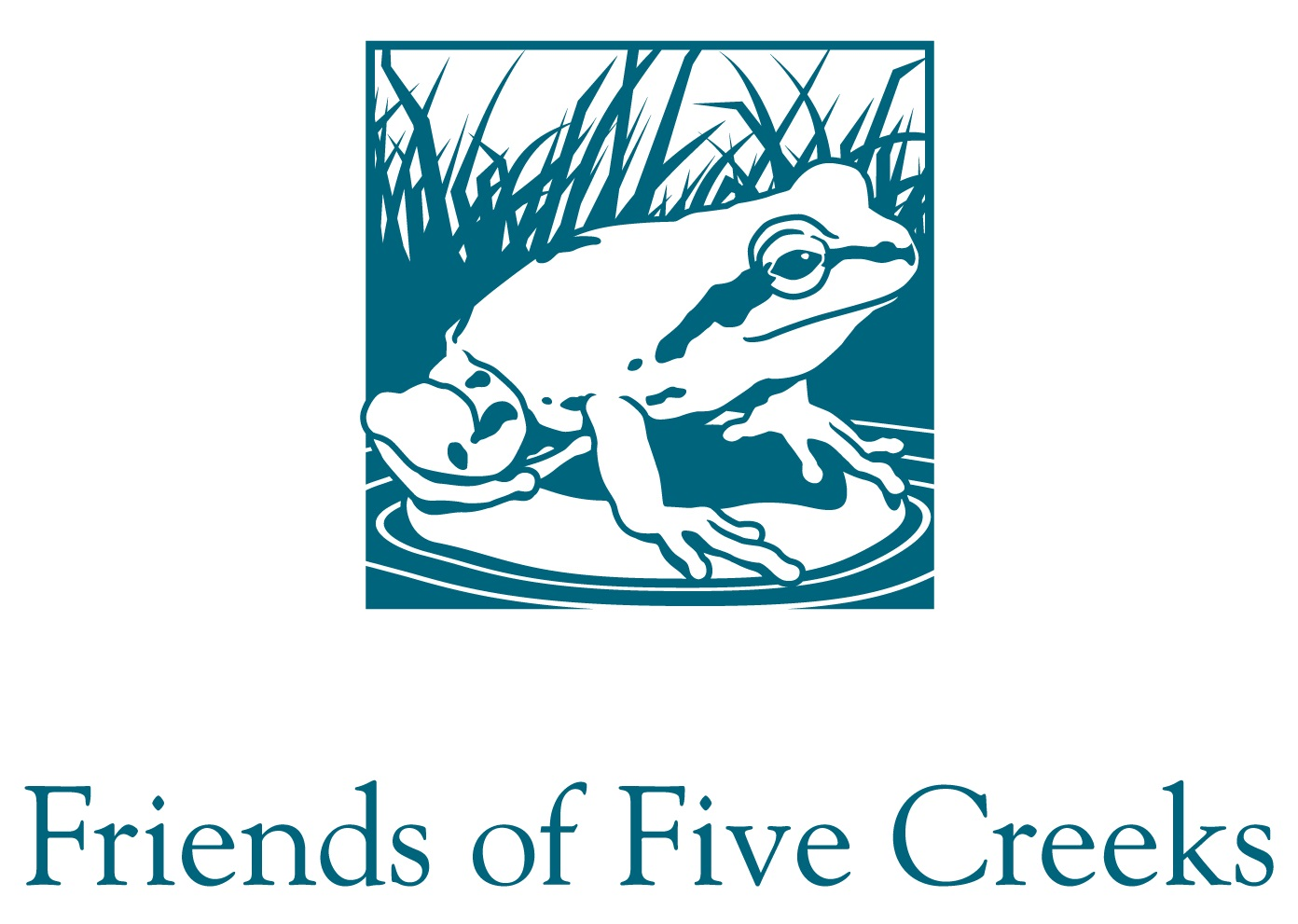 Friends of Five Creeks logo - link to website opens in new window