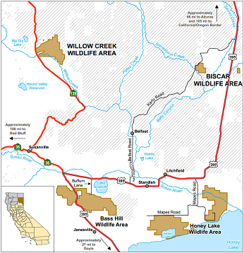 map of Willow Creek WA location - click to enlarge in new window