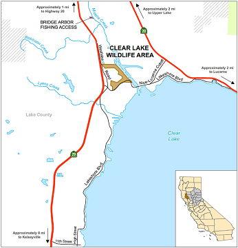 Map of clear Lake WA - click to enlarge in new window