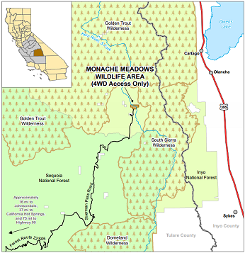 Map of Monache Meadows WA - click to open in new window