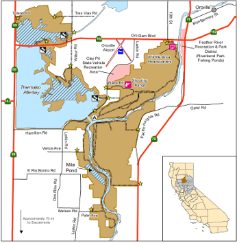 Map of Oroville WA - click to enlarge in new window