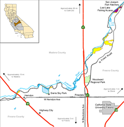 San Joaquin River ER location - click to enlarge in new window