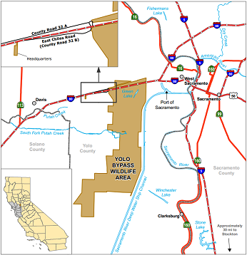 map of Yolo Bypass WA location - click to enlarge in new window