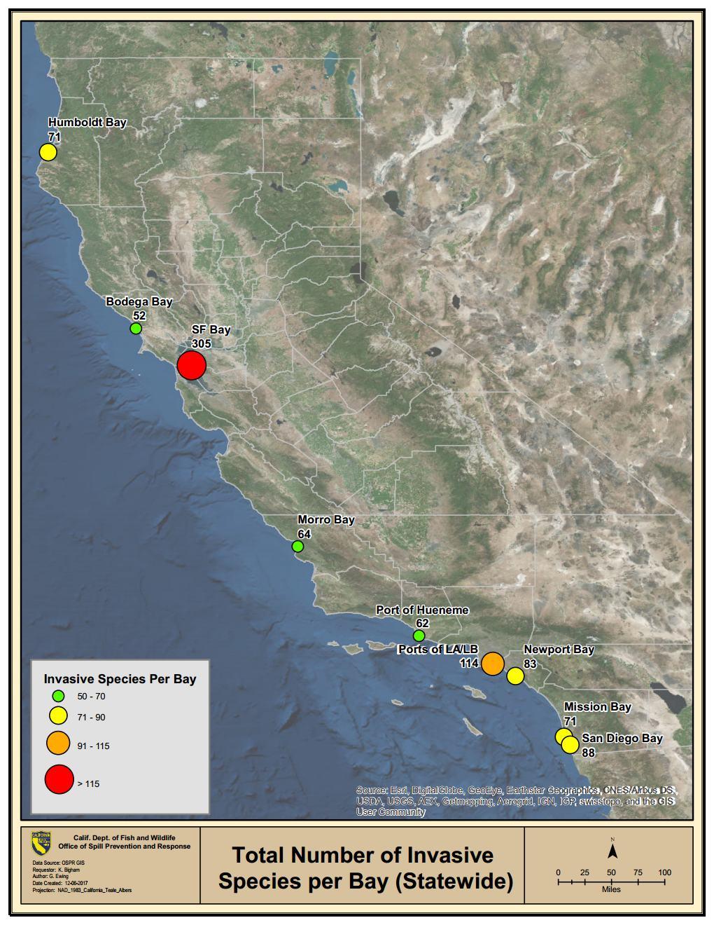 What are California Marine Invasive Species?