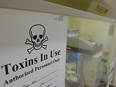 Toxin analysis at the Laboratory