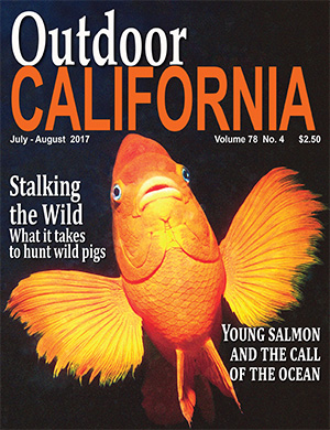 Outdoor California Magazine cover