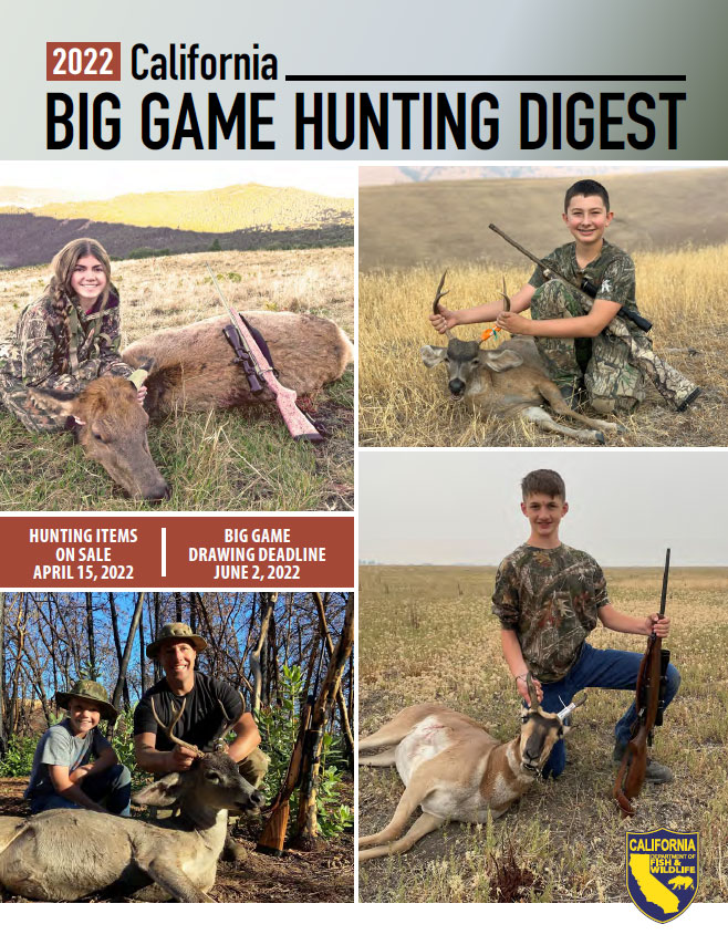 California Hunting Digest - link opens file in new window