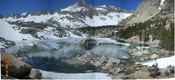 High Mountain Lakes - Sierra Nevada