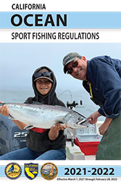 ocean sport fishing booklet cover - open web page in new window
