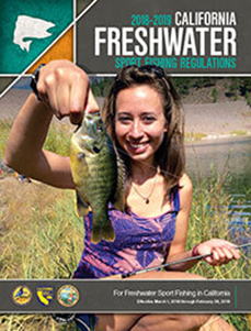 freshwater sport fishing booklet cover - open web page in new window