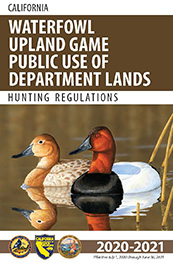Waterfowl Regulations cover - open web page in new window