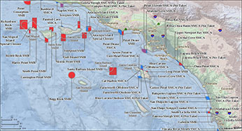 Southern California Marine Protected Areas - Southern ca map