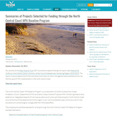 NCC_seagrant_screensoht_of_projects_page