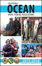In season ocean fishing regulation changes for 2016 for California fishing regulations