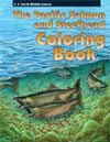 Pacific Salmon and Steelhead Coloring Book - link opens in new window
